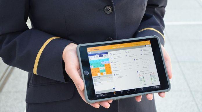Arbeitsprozesse: Lufthansa-Flugbegleiter erhalten iPads