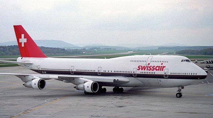 Swissair B-747
