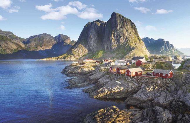 Charmants villages de pêcheurs des Lofoten