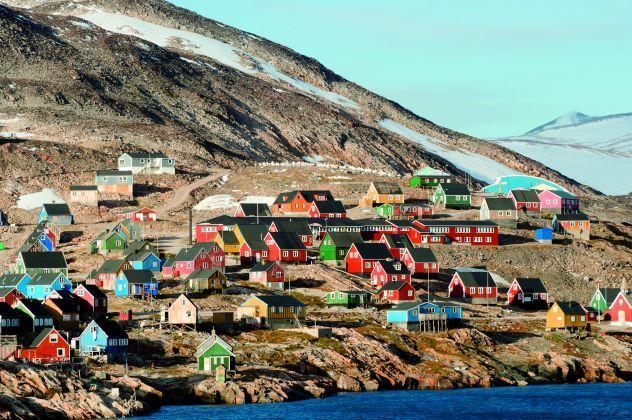 Village groenlandais d'Ittoqqortoormiit