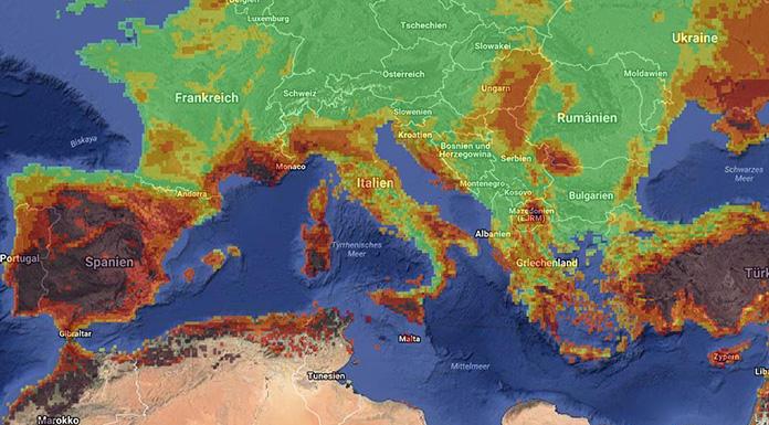 Waldbrände Portugal Karte.Waldbrände Feriendestinationen Von Flammen Bedroht Travel Inside
