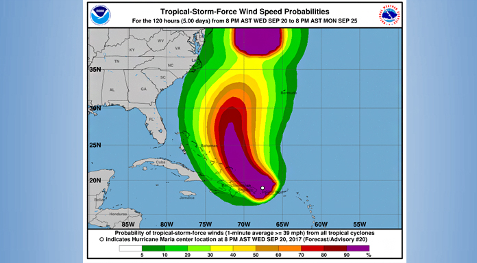 Sturm Karte