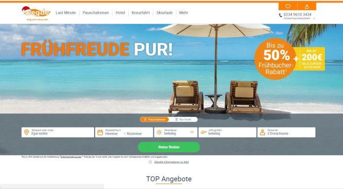 ProSiebenSat.1 schlägt Reiseportal weg.de los