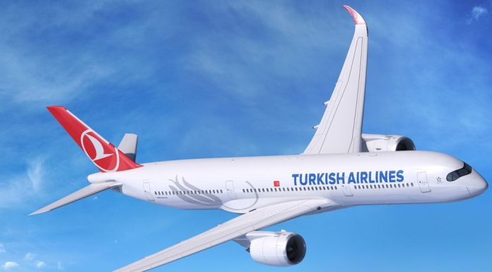 Rendering A350-900 Turkish Airlines
