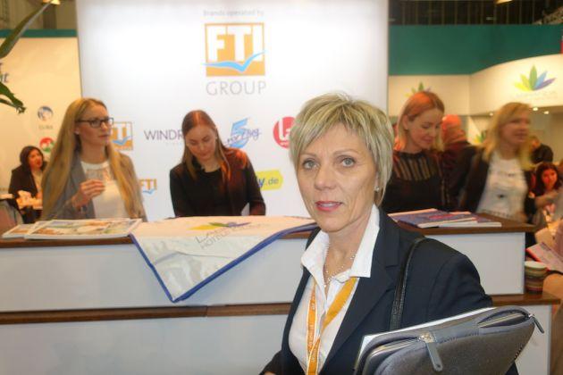 Carmen Doré FTI Touristik ITB