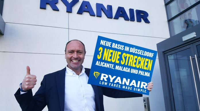 Ryanair eröffnet neue Basis in Düsseldorf