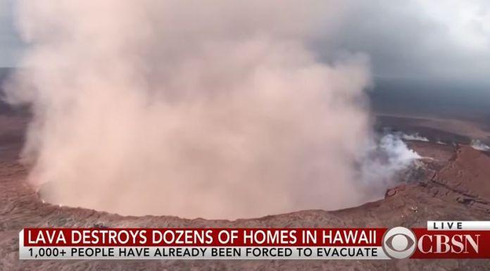 Vulkan Kilauea auf Hawaii stößt gewaltige Aschewolke aus