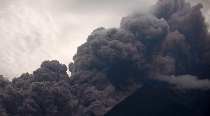 Vulkan Fuego Guatemala