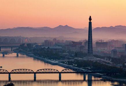 Juche Turm, Pjöngjang, Nordkorea