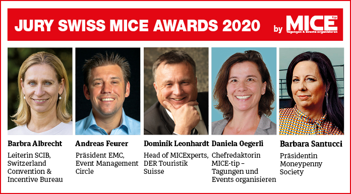 Swiss MICE-Awards Jury 2019
