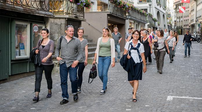 Stadtführungen in Thun: Ein beliebtes und unkompliziertes Rahmenprogramm für Semi- nar- und Ausflugsgruppen.