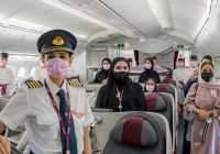 Qatar Airways crew feminin