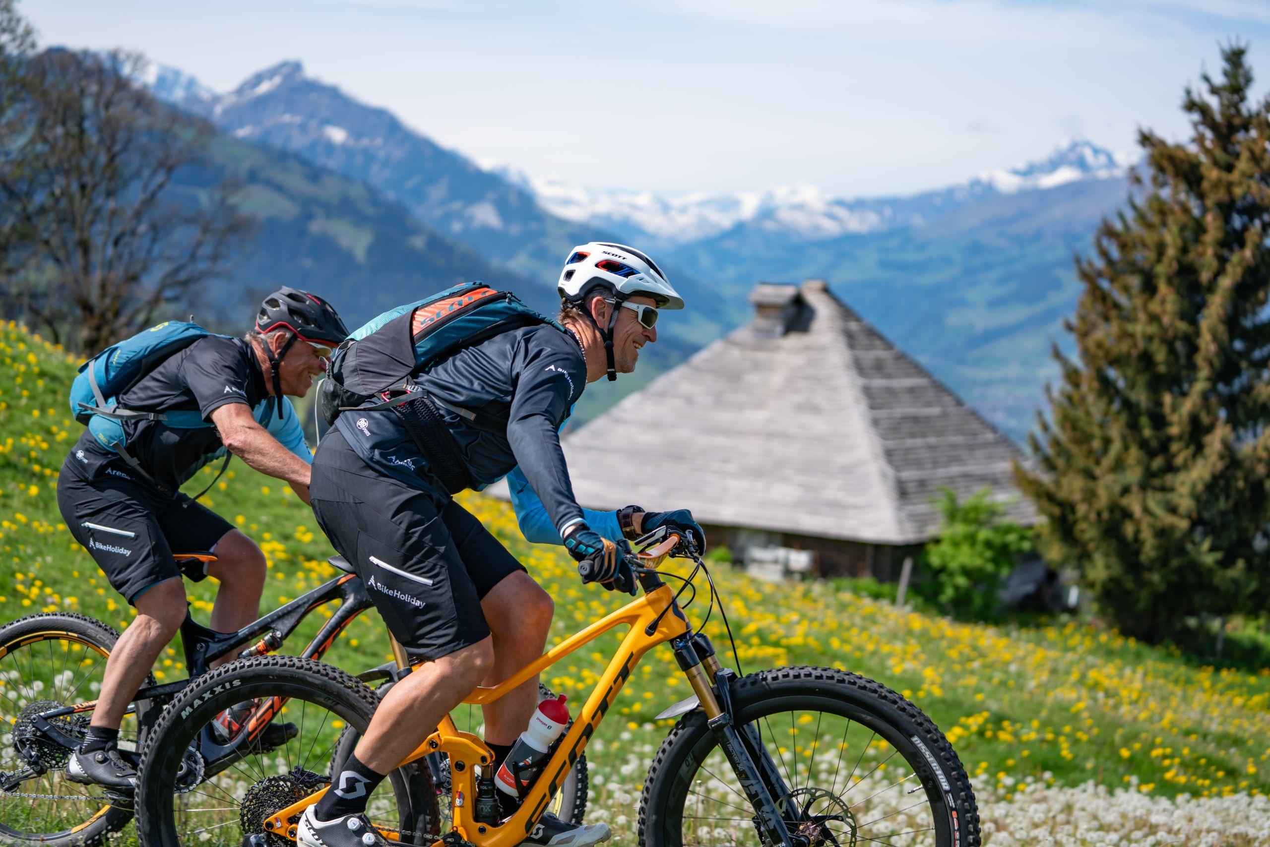 Bikeholiday-tritt-in-die-Pedalen