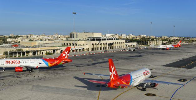 Air Malta Airport Valetta