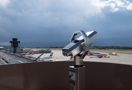 Genève Aéroport, terrasse