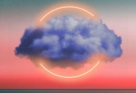 Cloud Wolke Stimmung Meer Romantik