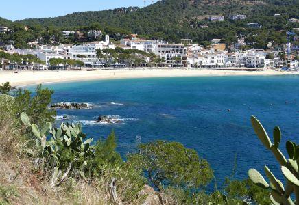 Spanien, Küste, Strand, Costa Brava