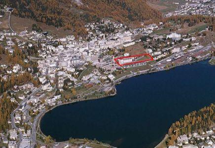 Luftansicht St. Moritz