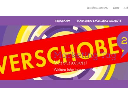 Screenshot Swiss Marketing Forum Webseite