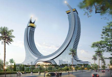 Rendering der Katara Türme