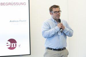 EMC-Präsident Andreas Feurer