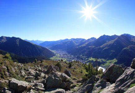 Blick vom Steigenberger Belvedere
