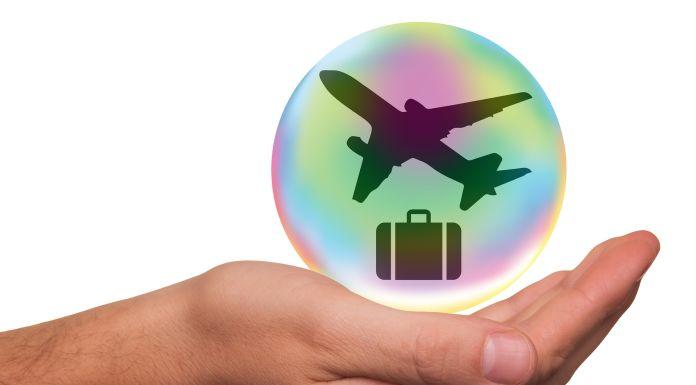 Versicherung, Schutz, Kundengeldabsicherung, Flug, Reise,